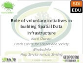 Role of voluntary initiatives in bu...