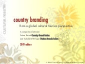 Country Branding From A Global Cult...