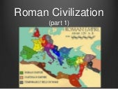 Roman civilization (Part 1)