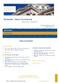 Romanian Alumni Community Newsletter  - Volume I, Issue 5