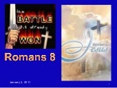 Romans 8a  NO CONDEMNATION