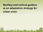 Rooftop and vertical gardens as an ...
