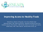 Improving Access to Healthy Foods