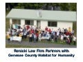Rosicki Law Firm Partners with Genesee County Habitat for Humanity