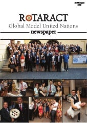 Rotaract MUN 2013 - Global Model Un...