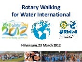 Rotary Walking for Water Hilversum ...