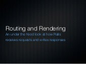 Rails Routing And Rendering