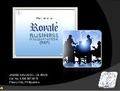 Royale business presentation video