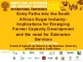 Entry paths into the South African sugar industry: implications for farmer capacity development and the need for extension services.