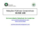 R ps corporativas nic 108