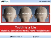 Truth is a Lie: Rules & Semantics from Crowd Perspectives (RR'2015 Keynote)