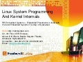 Rr embedded systems   linux system programming and kernel internals