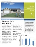 Homeownership in Rural America