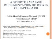 A study to analyse implementation o...