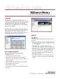 Rs Energy metrix product sheet