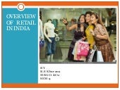 Overview Of Retail In India