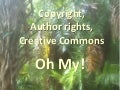 Copyright, author rights, creative commons