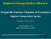 Regional Transportation Alliance pr...