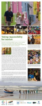 Responsible Tourism in Cities Poste...