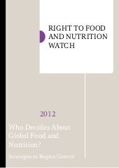 Right to Food and Nutrition Watch 2012
