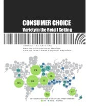 Consumer Choice; Variety in the Ret...