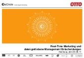 Real-Time Marketing und datengetriebene Management-Entscheidungen