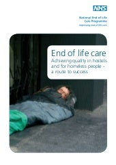 End of life care - achieving qualit...