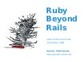 Ruby Beyond Rails