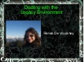 Dealing with Legacy <del>Code</del> People
