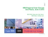 RUG Host Presentation -  IMS UG June 2013 Sao Paulo