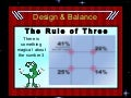 Graphic Design:  Rule of Three