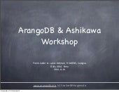 Rupy2012 ArangoDB Workshop Part1