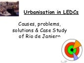 Rural Urban Migration Ledc