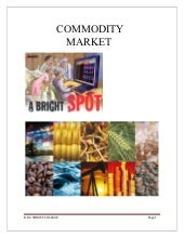 Rushabh commodity market project