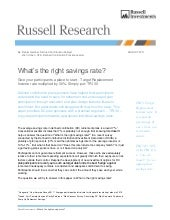 Russell Investment | What's the rig...