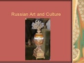 Russian Art And Culture