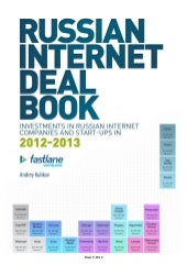 Russian Internet Deal Book: Invesments in Russian Internet Companies and Start-Ups