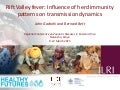 Rift Valley fever: Influence of herd immunity patterns on transmission dynamics