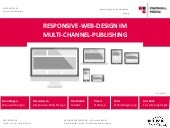 Responsive Webdesign im Multichanne...