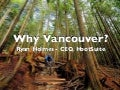 Why Vancouver? Start-up Tips from Grow Conference