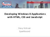Developing Windows 8 Applications w...