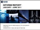 Saab Interim Report January - June ...