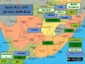 South Africa CSO Partners Map 2004-2013
