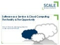 Saas and the Cloud Ten Years In