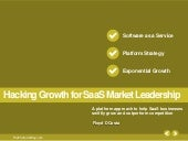 Hacking Growth for SaaS Market Lead...