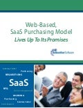 SaaS Lives Up To Its Promises