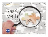 SaaS Math - MaRS Best Practices Series