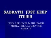 Sabbath the eternal sign of the cov...