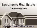 Sacramento Real Estate Examination