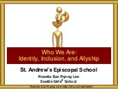St Andrews Episcopal School Identity Inclusion Allyship